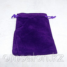 Мешочек бархатный, фиолетовый, 12*9см