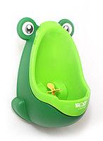 """Писсуар для мальчиков """"Лягушка с прицелом"""". Цвет: зелёный"""