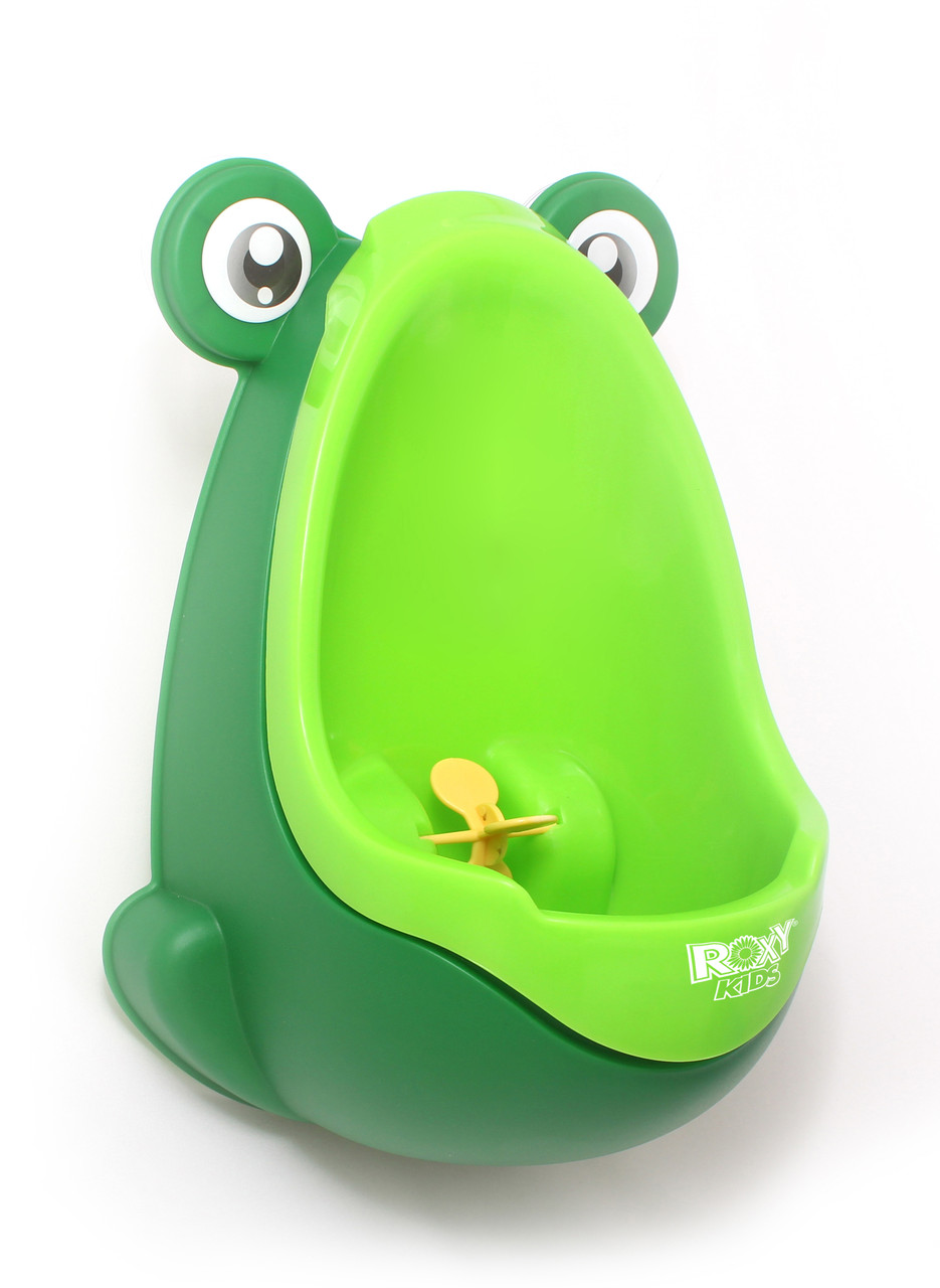 """Писсуар для мальчиков """"Лягушка с прицелом"""". Цвет: зелёный - фото 1"""