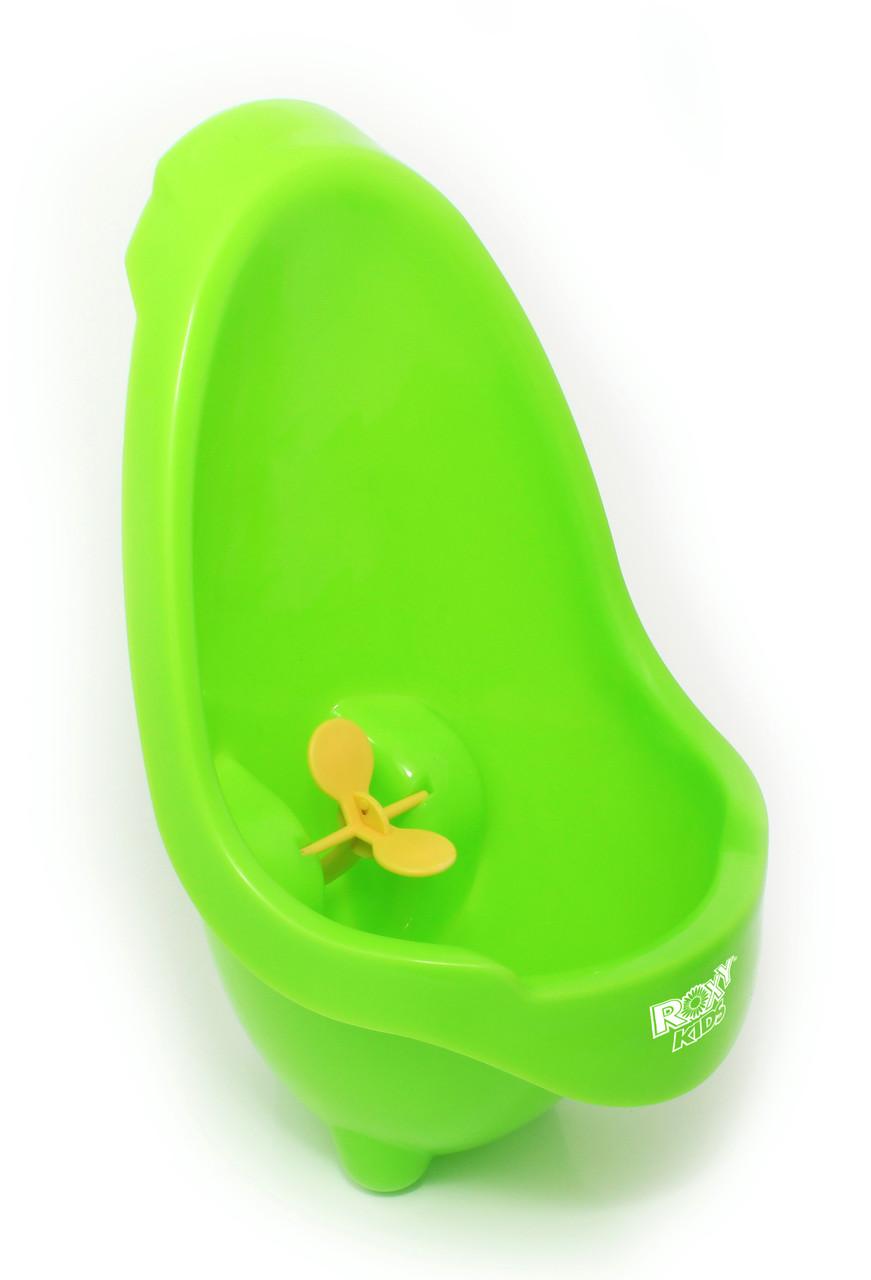 """Писсуар для мальчиков """"Лягушка с прицелом"""". Цвет: зелёный - фото 2"""