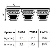 5-3V 710RP  ремень optibelt KB Red Rower 3