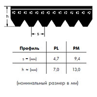 PL 2743 30   ремень OPTIBELT RB