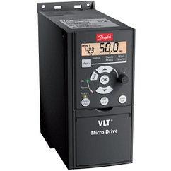 Частотный преобразователь VLT MICRO DRIVE FC 51, 0,37 кВт 1 фаза 200-240В