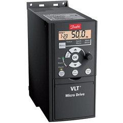 Частотный преобразователь VLT MICRO DRIVE FC 51, 1,5 кВт 1 фаза 200-240 В