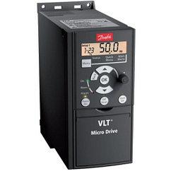 Частотный преобразователь VLT MICRO DRIVE FC 51, 0,37 кВт, 3 фазы 380В