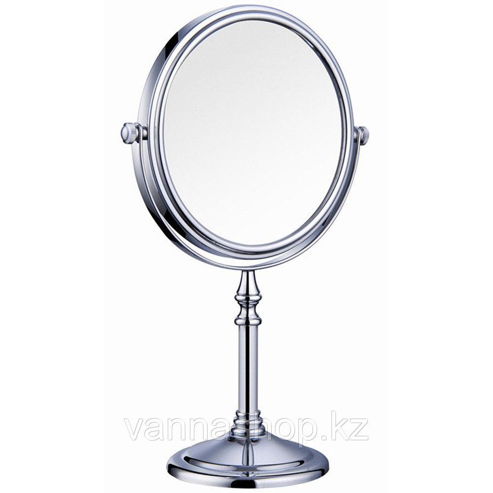 Настольное зеркало увеличительное (хром) 5x