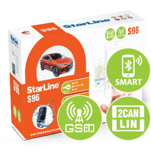 Автосигнализация StarLine S96 BT 2CAN+2LIN GSM-GPS