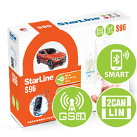 Автосигнализация StarLine S96 BT 2CAN+2LIN GSM-GPS