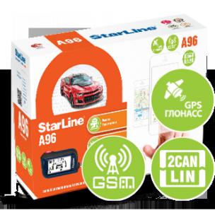 Автосигнализация StarLine A96 2CAN+2LIN GSM-GPS
