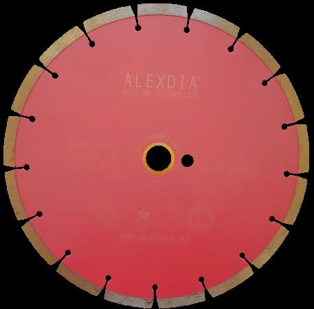 Сегментный диск по граниту (SINTERED) цвет : розовый 230D-2.3T-7W-22.23H