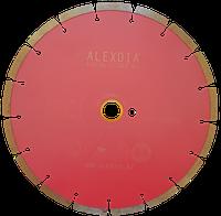 Сегментный диск по граниту (SINTERED) цвет : розовый 350D-40L-2.8T-10W-24S-50/32H