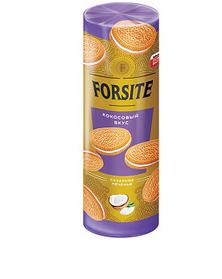 «Forsite», печенье-сэндвич с кокосовым вкусом, 208 г
