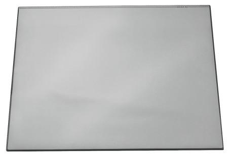 Покрытие настольное 52х65см, серое, с прозрачным верхом Durable