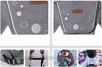 Хипсит - рюкзак iMama Smart(серый,бордовый,черный), фото 5
