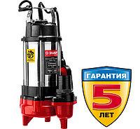Насос фекальный погружной, ЗУБР НПФ-750, 750 Вт, пропускная способность 310 л/мин, фото 1