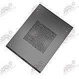 Шкаф серверный напольный LATITUDA 22U, 600*1000*1075мм, цвет черный, передняя дверь стеклянная, фото 3