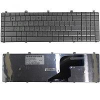 Клавиатура для ноутбука Asus N55 / N55S / N75  RU серебро