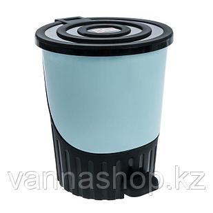 Урна педальная пластиковая 8 литров (Турция)