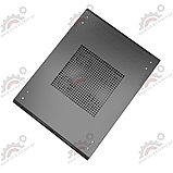 Шкаф серверный напольный  LATITUDA 27U, 600*800*1297мм, цвет черный, передняя  дверь стеклянная, фото 3