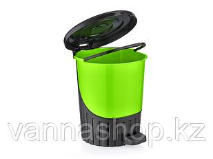 Урна педальная пластиковая 14 литров Турция