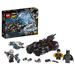 LEGO Super Heroes Конструктор ЛЕГО Супер Герои Гонка на мотоциклах с Мистером Фризом