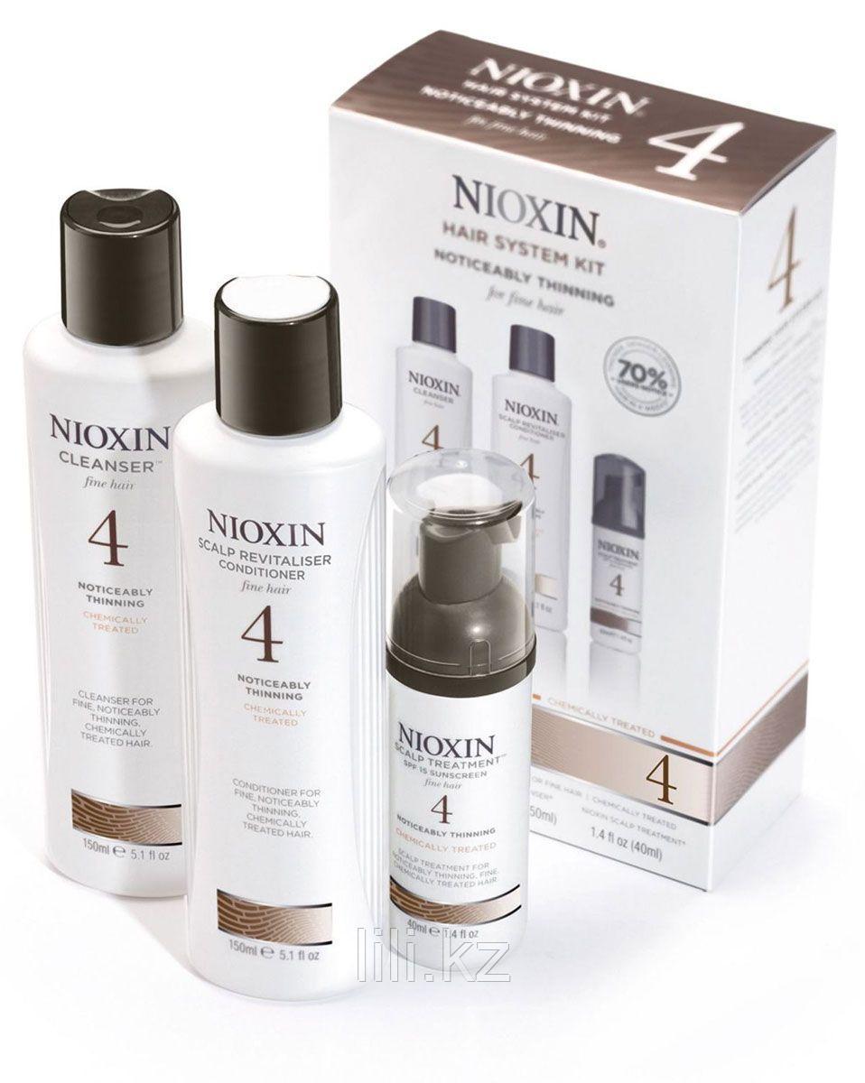 Тест - набор система 4 Nioxin (150мл+150мл+50 мл)