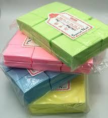 Безворсовые салфетки,1000шт.Плотные цветные