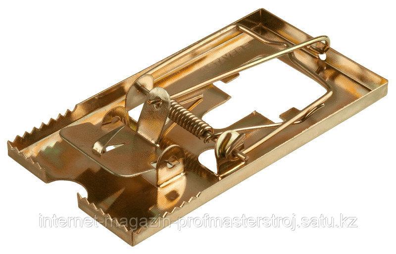 Мышеловка металлическая, 115 х 60 мм, MASTER, STAYER