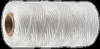 Шпагат полипропиленовый, белый, 60 м, 1200 текс, серия «МАСТЕР», ЗУБР
