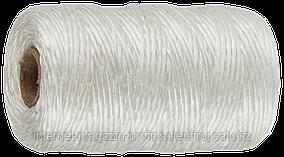 Шпагат полипропиленовый, белый, 500 м, 1200 текс, серия «МАСТЕР», ЗУБР