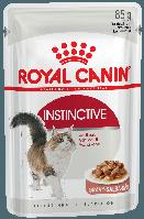 Влажный корм для кошек для поддержания здоровья мочевыделительной системы Royal Canin Instinctive в соусе