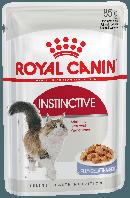 Влажный корм для кошек для поддержания здоровья мочевыделительной системы Royal Canin Instinctive в желе
