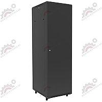 Шкаф серверный напольный LATITUDA 37U, 600*800*1738,5мм, цвет черный, передняя дверь стеклянная