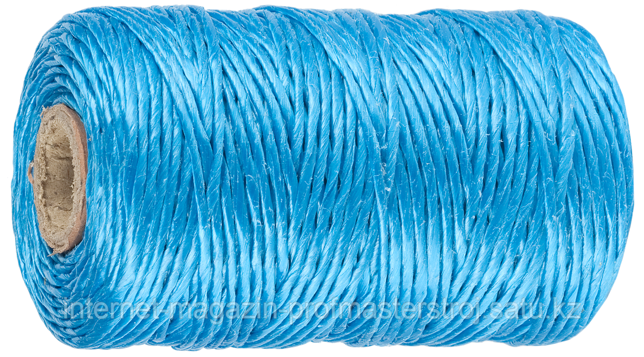 Шпагат полипропиленовый, синий, 110 м, 1200 текс, серия «МАСТЕР», ЗУБР