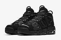 Кроссовки Supreme x Nike Air More Uptempo Black размеры 40-44