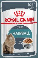 Влажный корм для кошек для выведения комочков шерсти Royal Canin Hairball Care в соусе