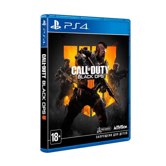 Видеоигра Call of Duty Black Ops 4 PS4