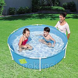 Детский каркасный круглый бассейн Bestway 56283 My First Frame Pool 152x38 см, 580 л