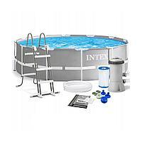 Каркасный бассейн круглый IntexPrism Frame 366*99 см 26716NP