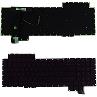 Клавиатура для ноутбука Asus ROG G752 / G752VL / G752VT ENG