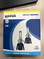 Автомобильные светодиодные лампы с цоколем HL HB3/HB4 от NARVA 12V-LED 6000K 16W Range Power LED HL