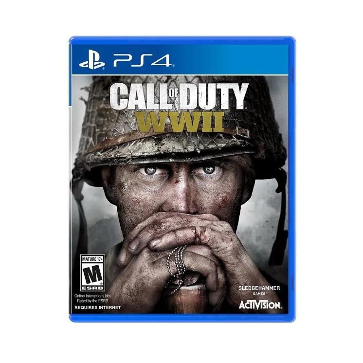 Видеоигра Call of Duty WWII PS4