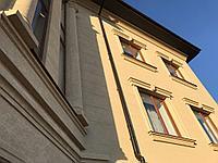 Фасадные декоративные элементы, оконные обрамления