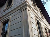 Угловые декор элементы, оконные обрамления, межэтажный пояс