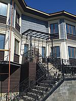 Фасад панелями с жидким травертином