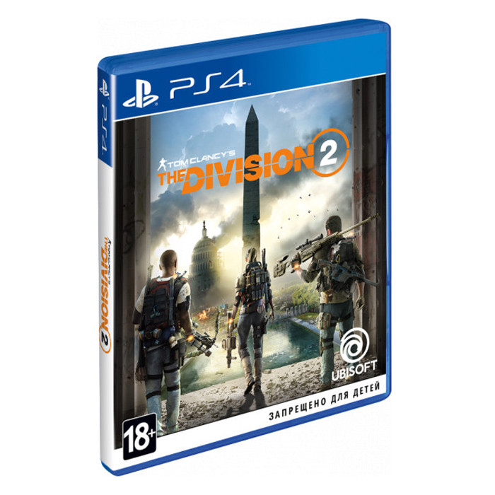 Видеоигра Tom Clancy's The Division 2 PS4