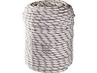 Фал плетёный полипропиленовый 6 мм бухта 100 м 320 кгс, СИБИН