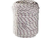 Фал плетёный полипропиленовый 8 мм бухта 100 м 520 кгс, СИБИН