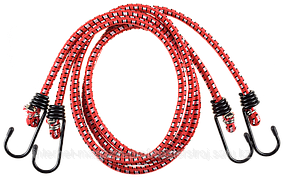 Шнур резиновый крепежный, 600 мм, 2 шт, серия «МАСТЕР», ЗУБР