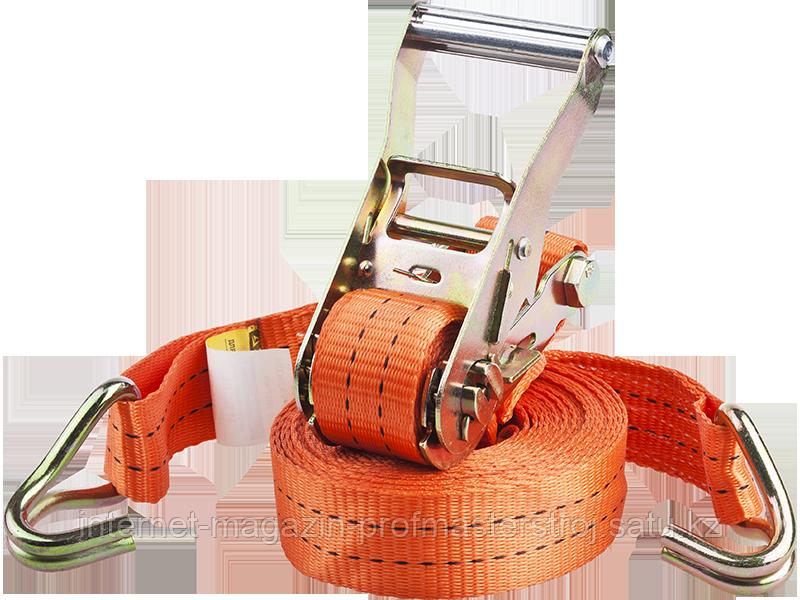 Ремень для крепления груза, 1000 кг, 35 мм, 4 м, серия PROFESSIONAL, STAYER